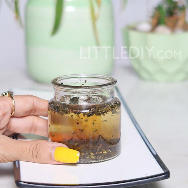 GREEN TEA HAIR OIL FOR LONGER AND STRONGER HAIR