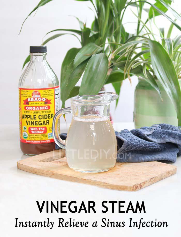 Apple Cider Vinegar Steam