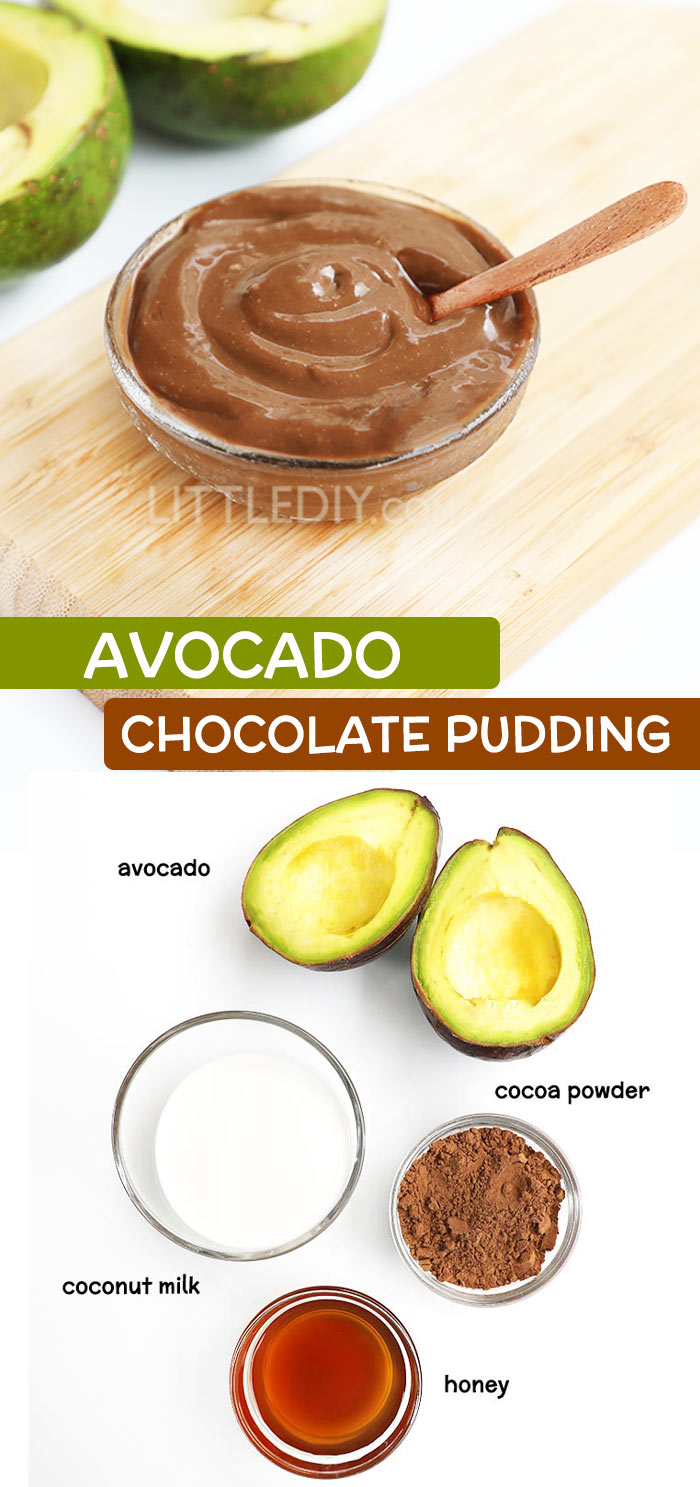 AVOCADO CHOCOLATE PUDDING RECIPE