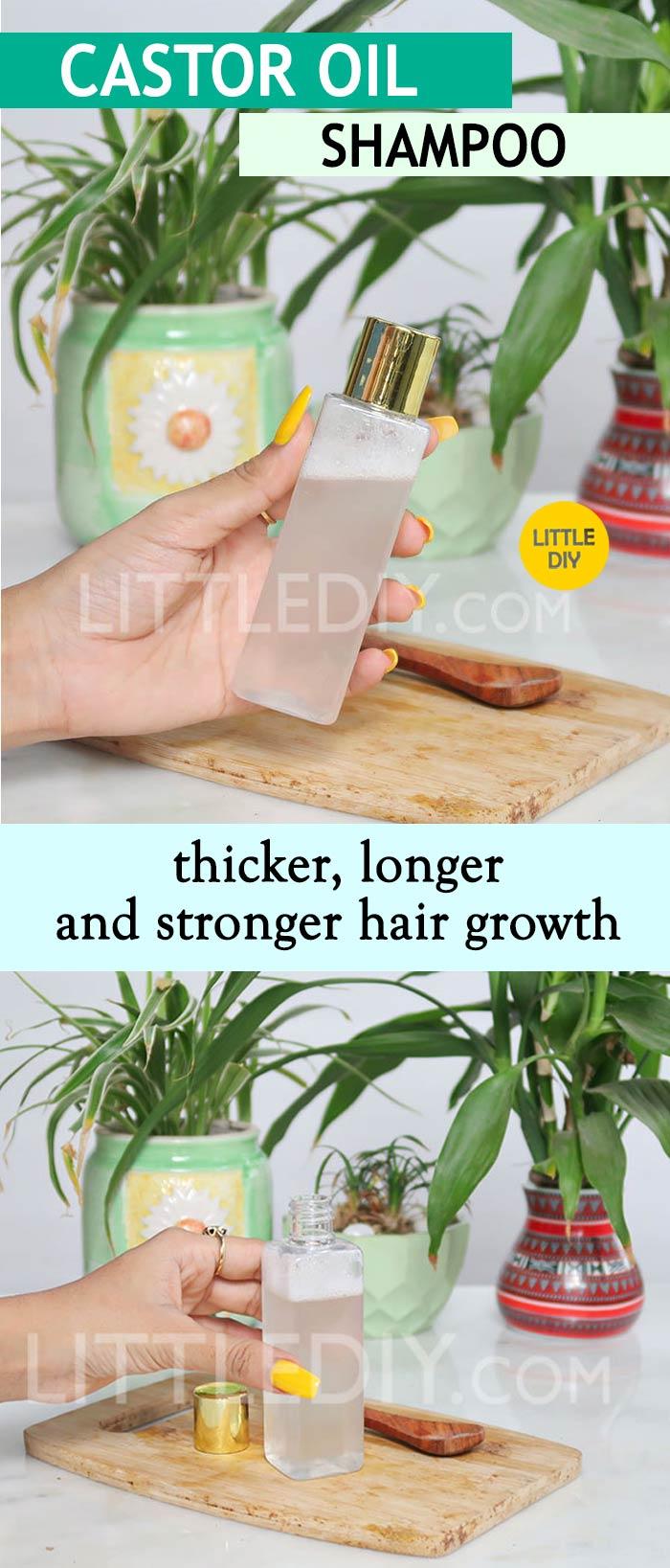 CASTOR OIL SHAMPOO FOR HAIR GROWTH