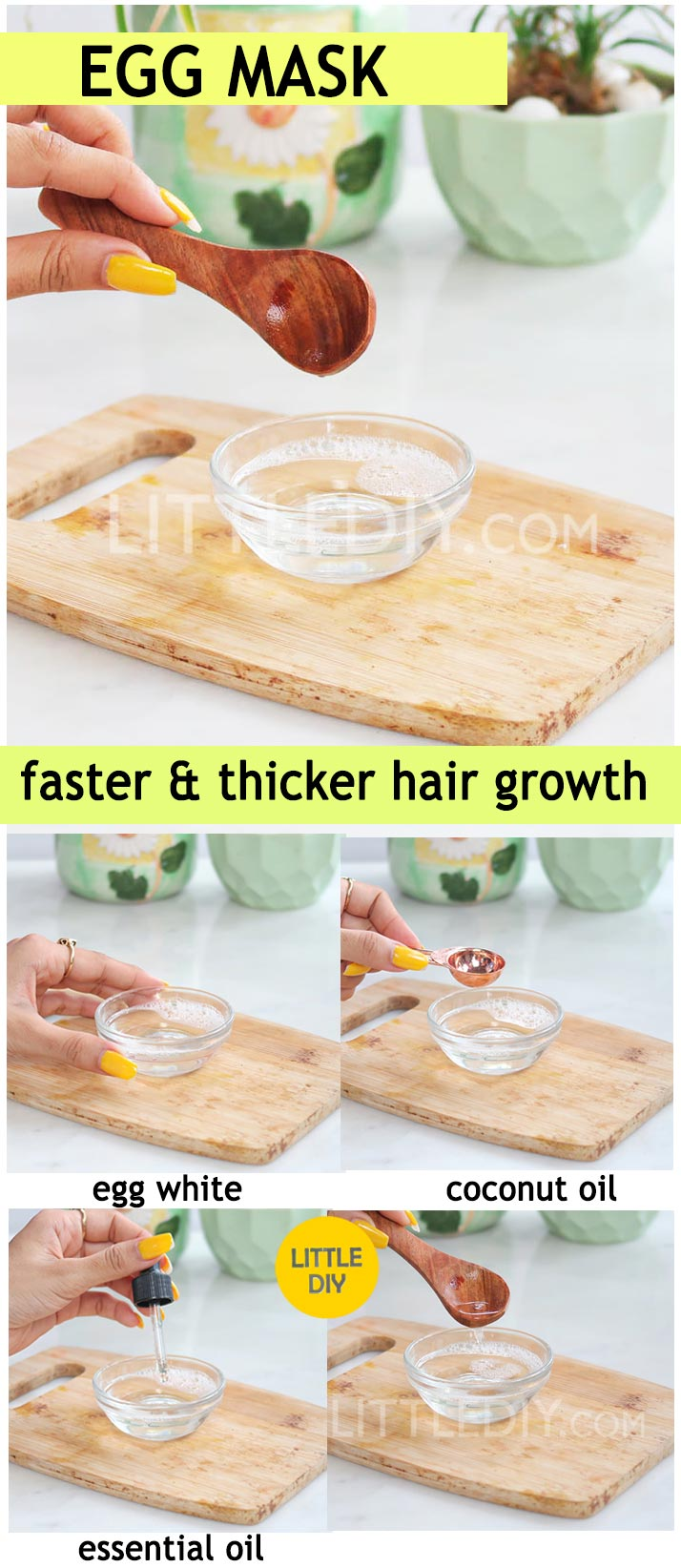 Photo of EGG HAIR GROWTH MASK