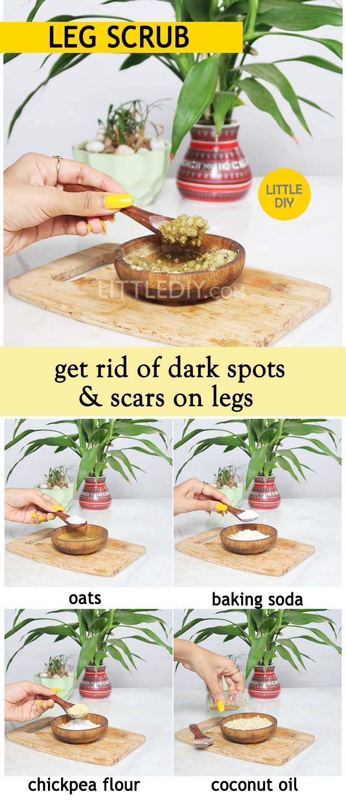 LEG SCRUB