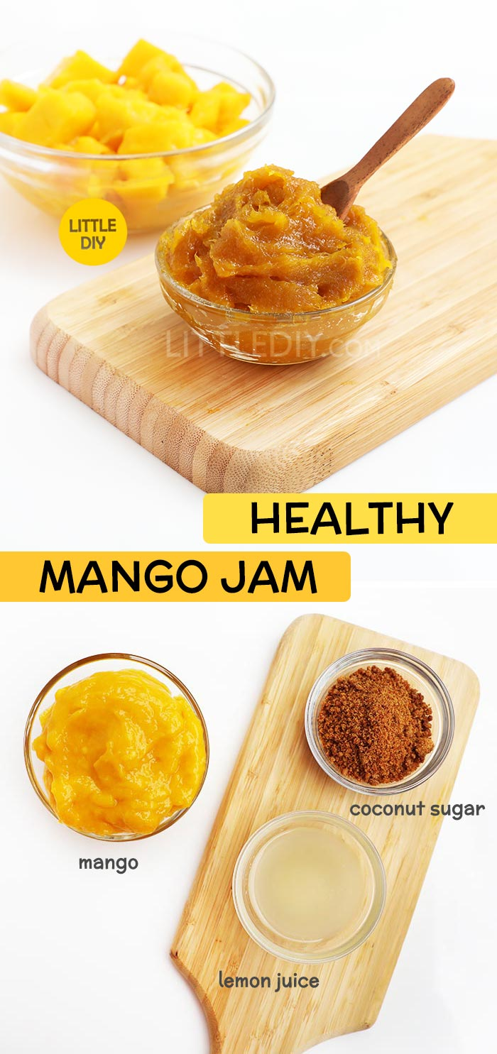 HEALTHY MANGO JAM RECIPE