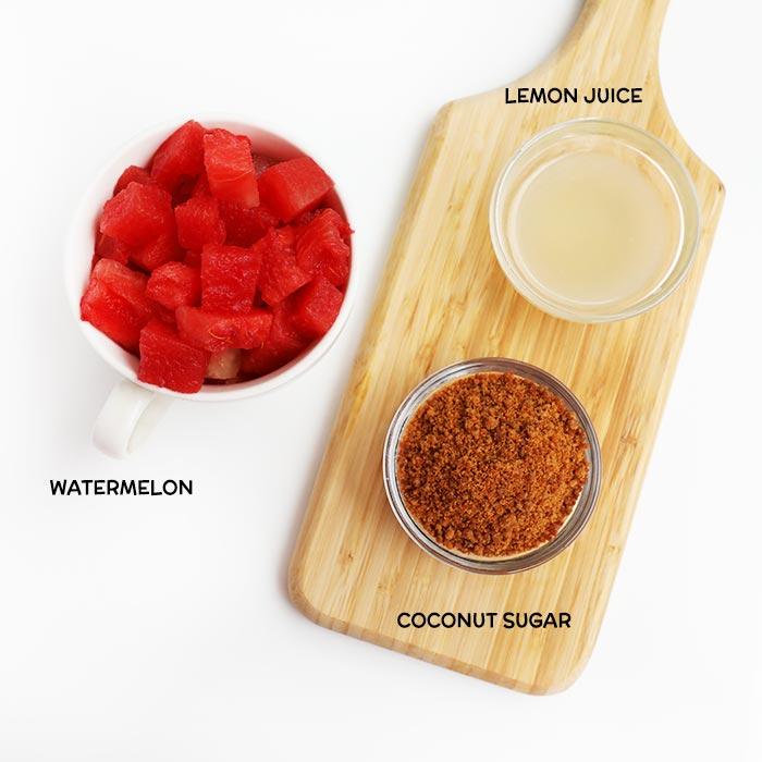 HEALTHY WATERMELON LEMONADE RECIPE