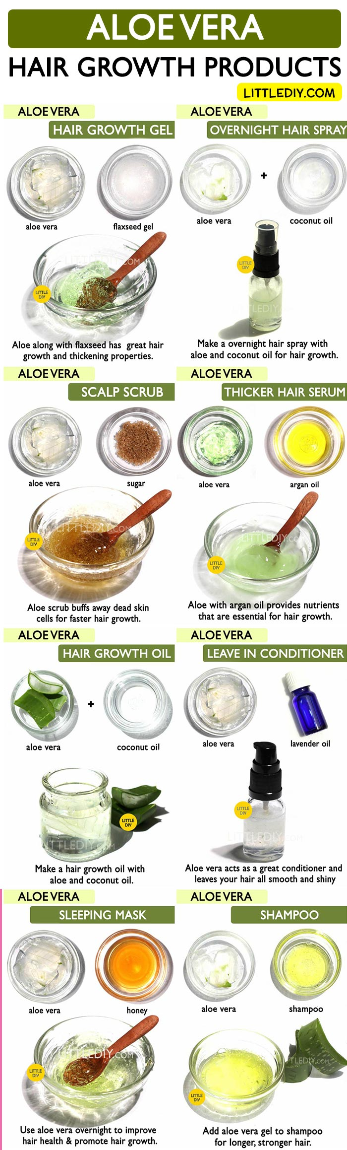 TOP ALOE VERA HAIR PRODUCTS