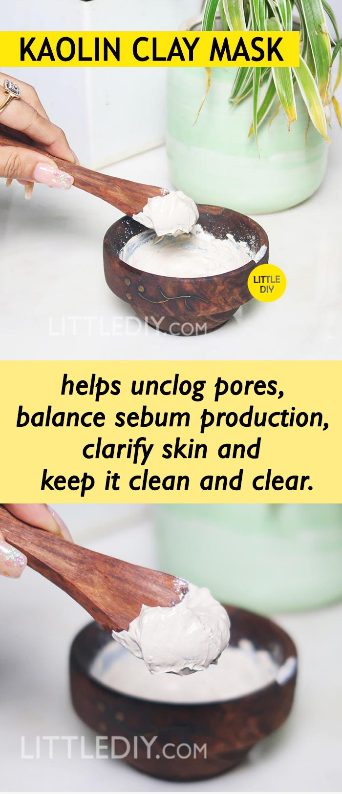 Photo of KAOLIN CLAY MASK TO CLEAR ACNE