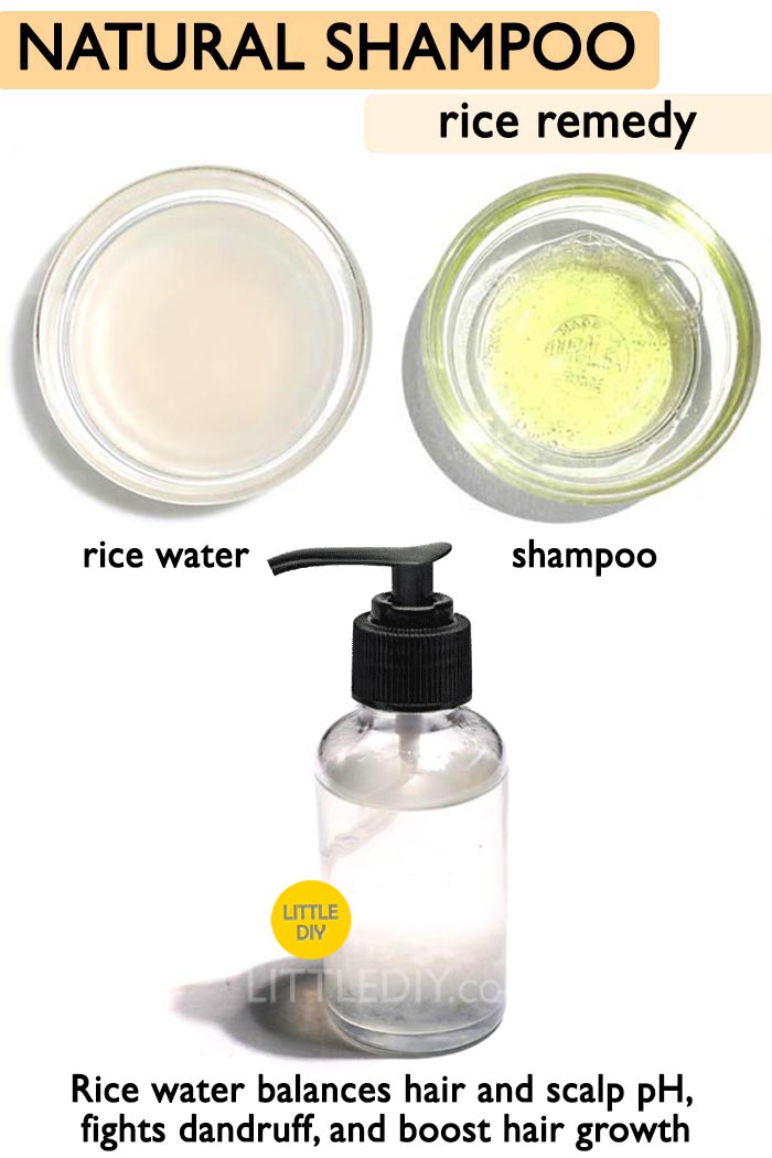 Natural Rice Water shampoo -