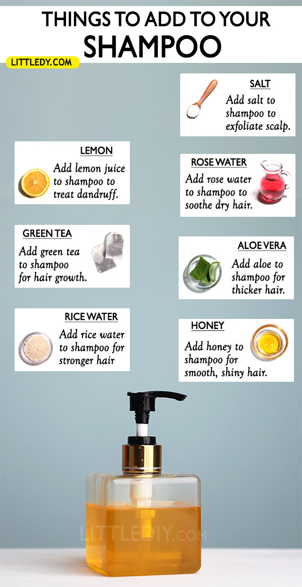 Photo of 10 BEST NATURAL INGREDIENTS TO ADD TO YOUR SHAMPOO FOR HEALTHY HAIR
