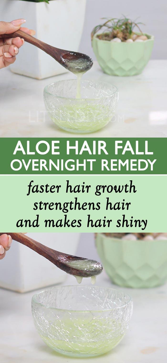 OVERNIGHT ALOE HAIR FALL REMEDY