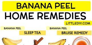 BEST DIY REMEDIES USING BANANA PEEL