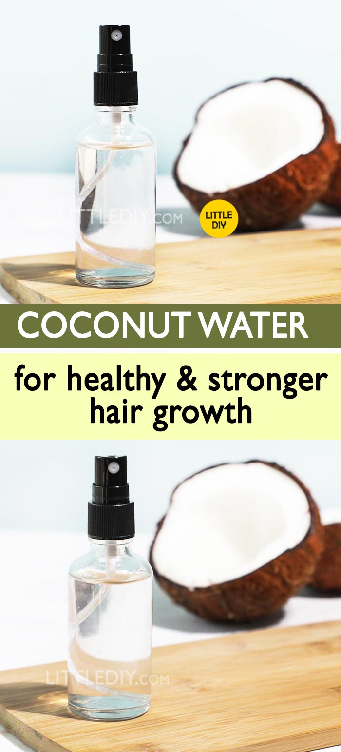 Photo of COCONUT WATER for healthy hair growth