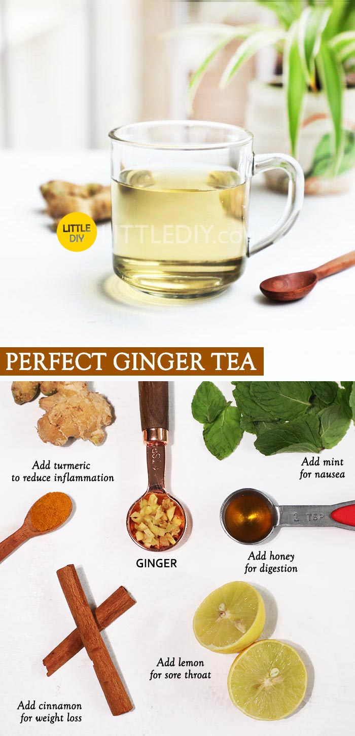 Fresh Ginger tea Recipe and benefits