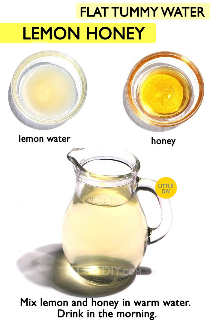 Lemon Honey Flat tummy Drink -