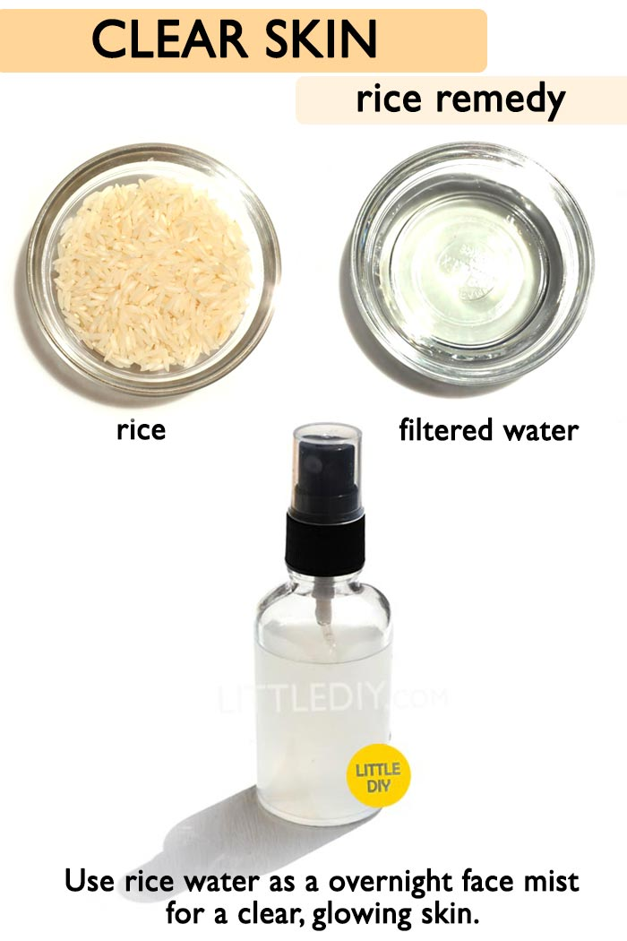 Overnight Rice Face mist for glowing skin -
