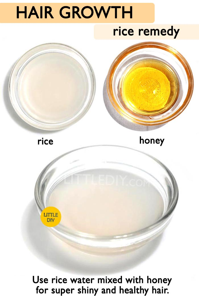 Overnight Rice Hair Growth water  -