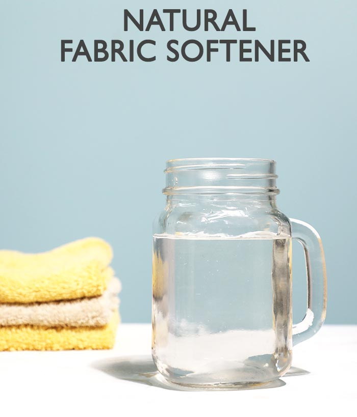 DIY Natural Fabric Softener