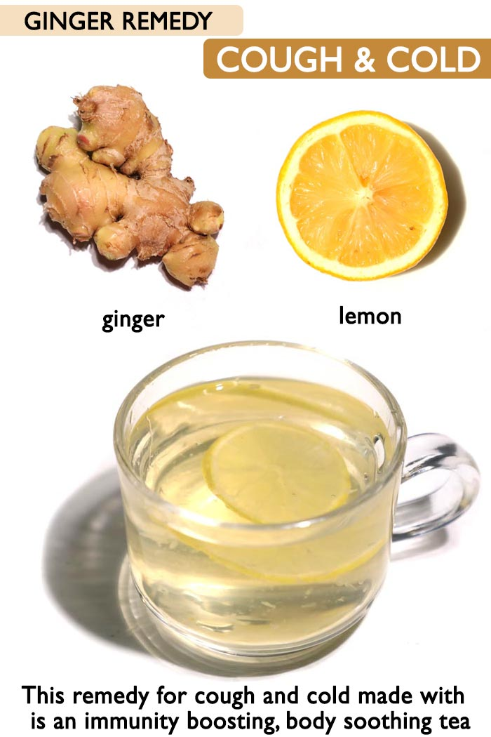Ginger for cough and cold -