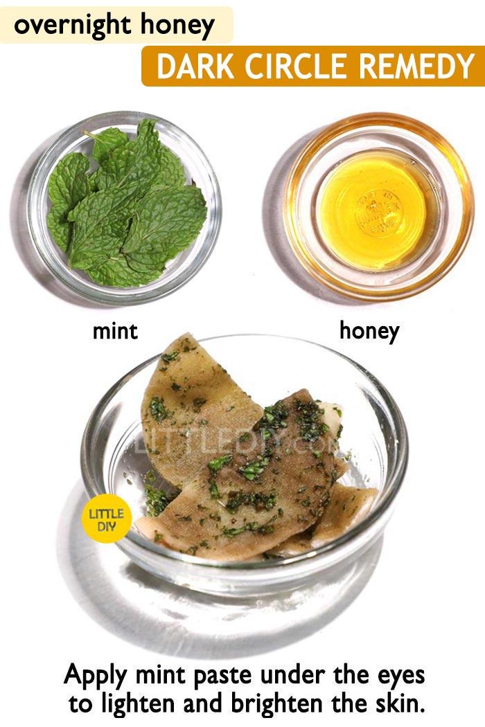 Honey overnight dark circle remedy -