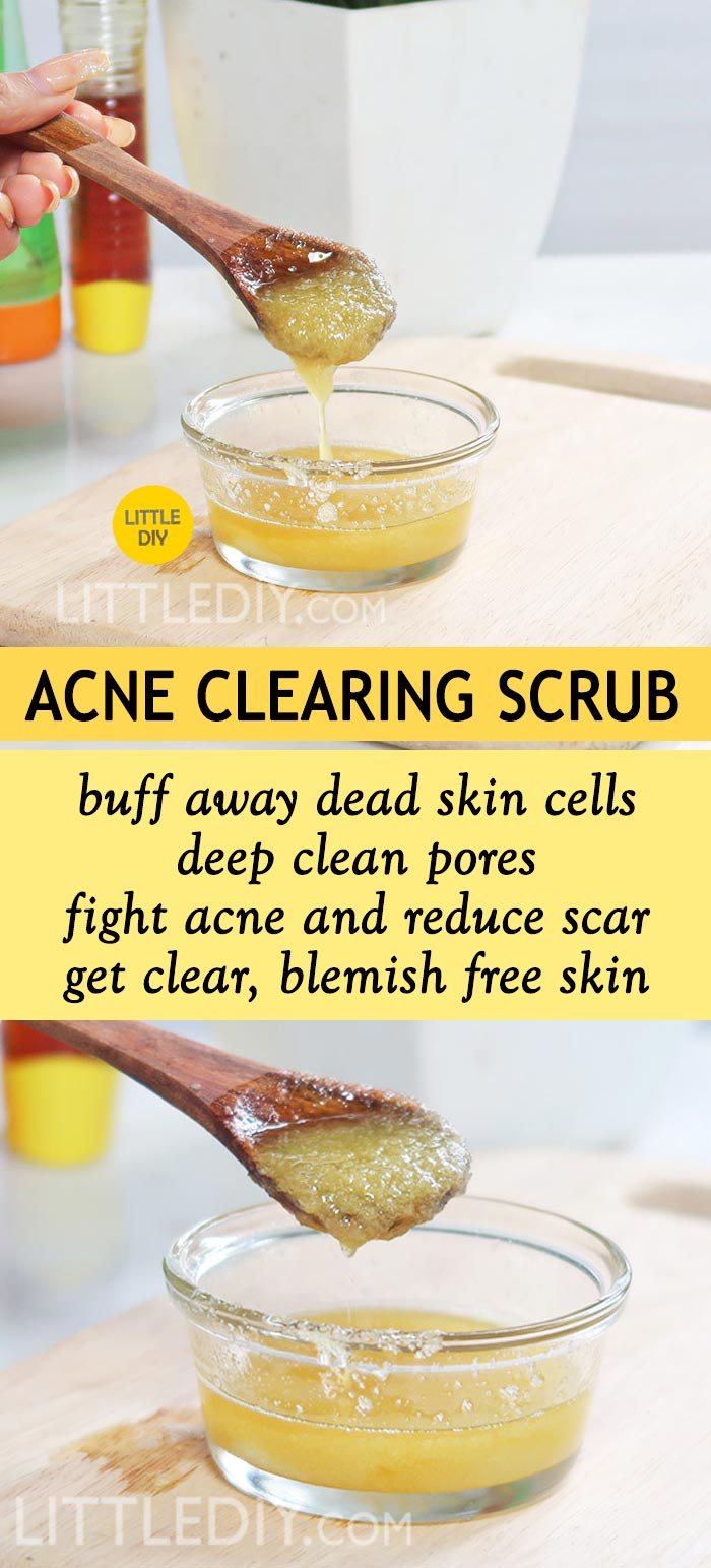 Photo of SALT ACNE CLEARING FACE SCRUB
