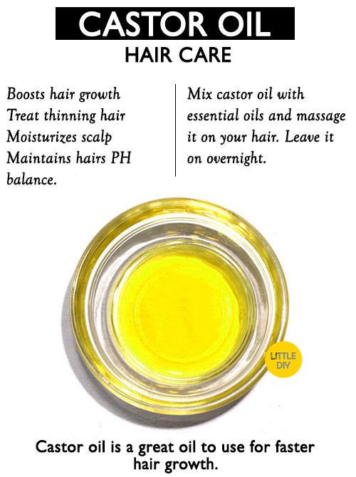 Castor Oil Hair care -