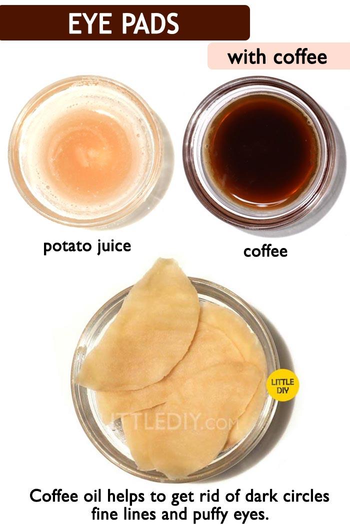 Coffee dark circles -
