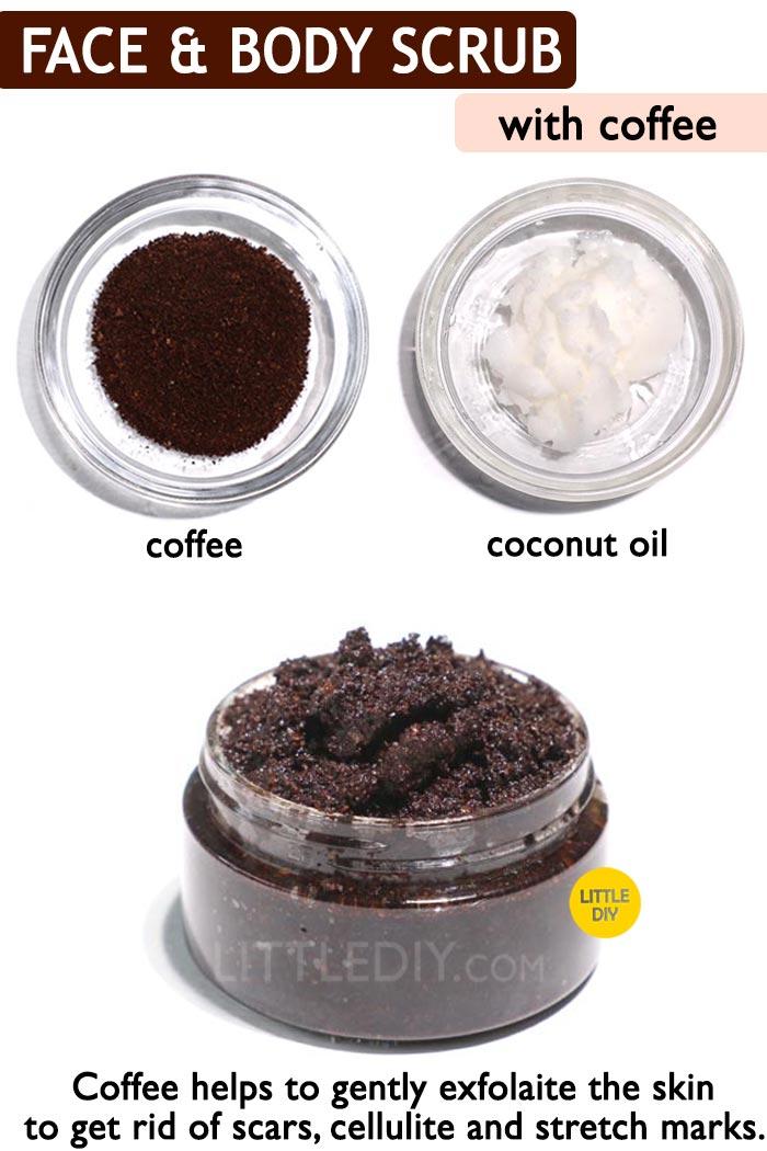 Coffee Face and body scrub -