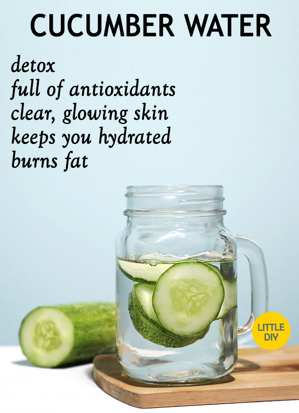 CUCUMBER WATER FOR CLEAR GLOWING SKIN