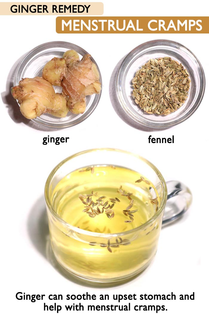 Ginger Remedy for Menstrual cramps