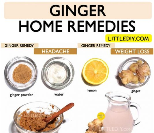 GINGER REMEDIES
