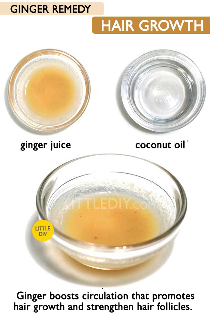 Ginger hair growth mask  -