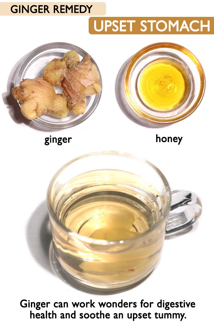 Ginger for upset stomach -