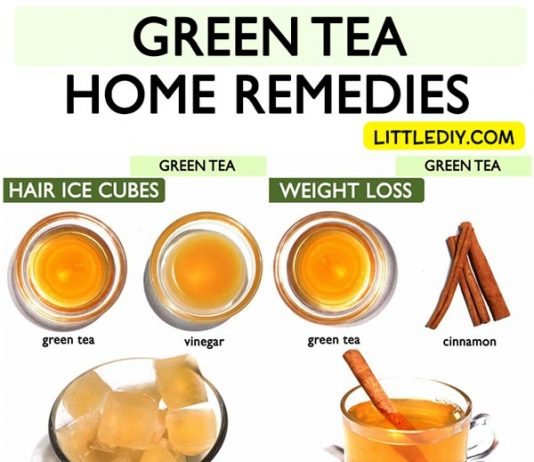 Top 10 Amazing Green tea Home Remedies