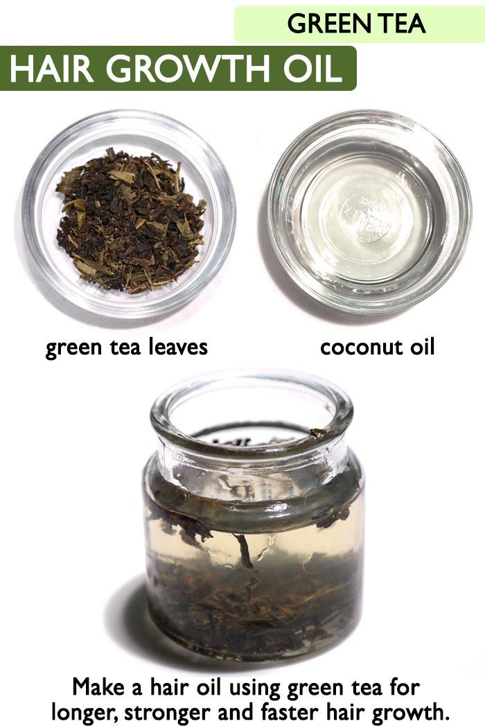 Green tea oil -