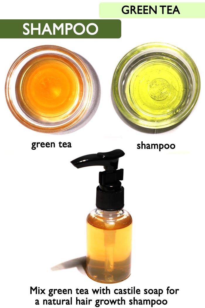 Green tea shampoo -