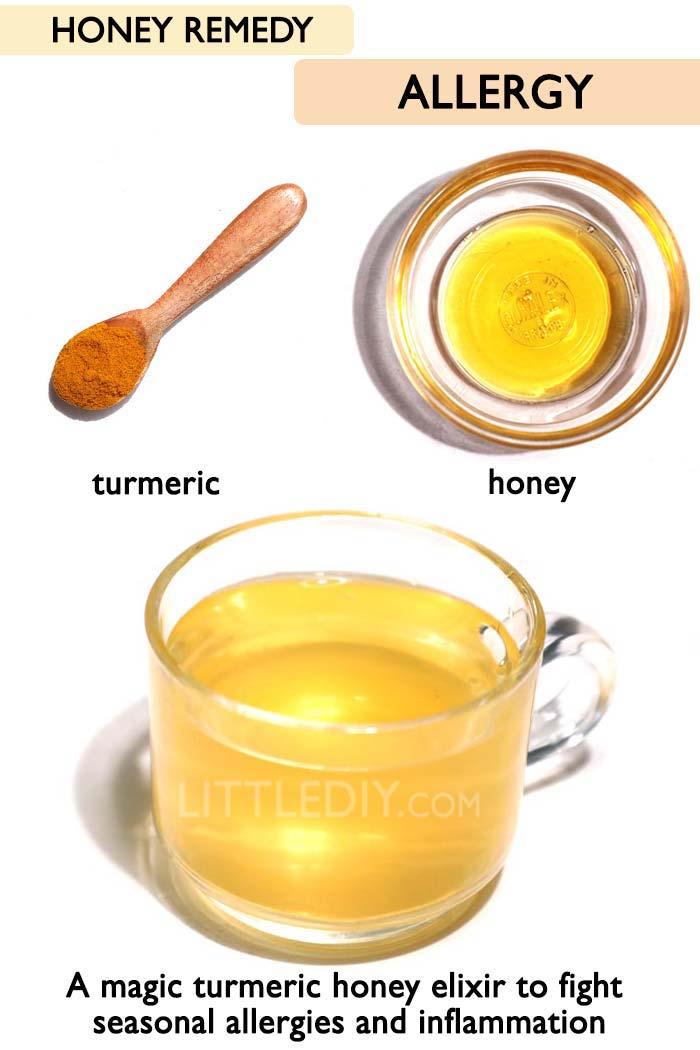 Honey for allergies -