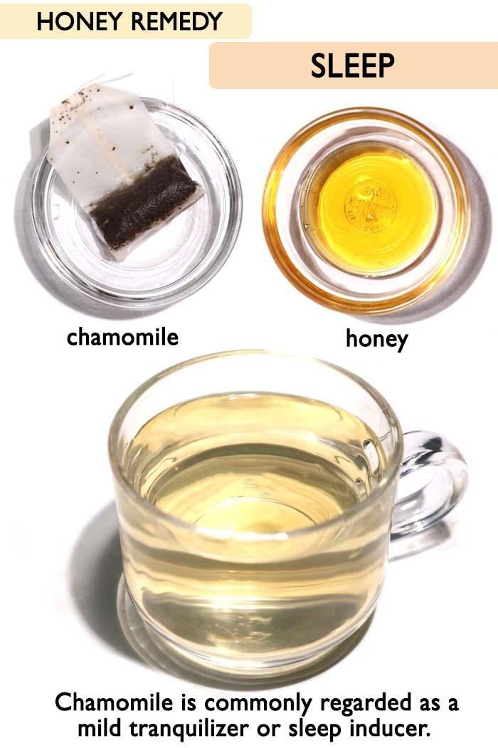 Honey for sleep -