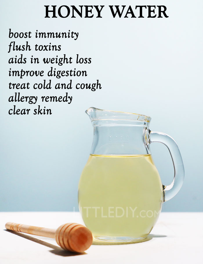 HEALTHY MORNING DRINK - HONEY WATER