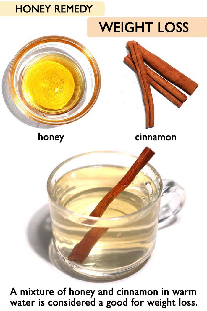 Honey for weight loss -