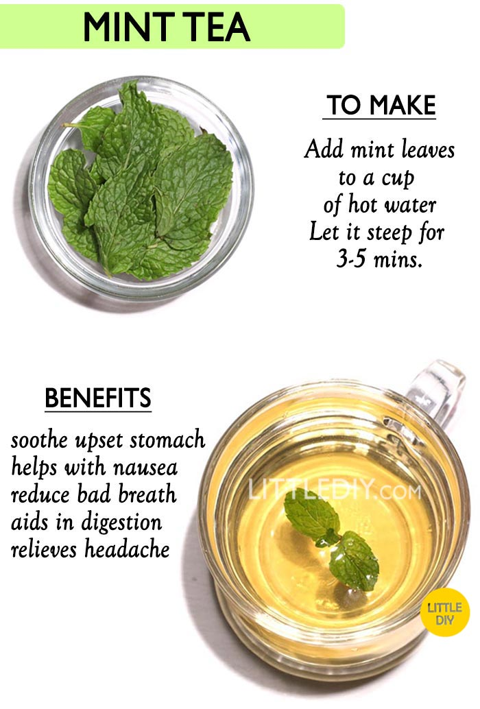 Peppermint Tea -