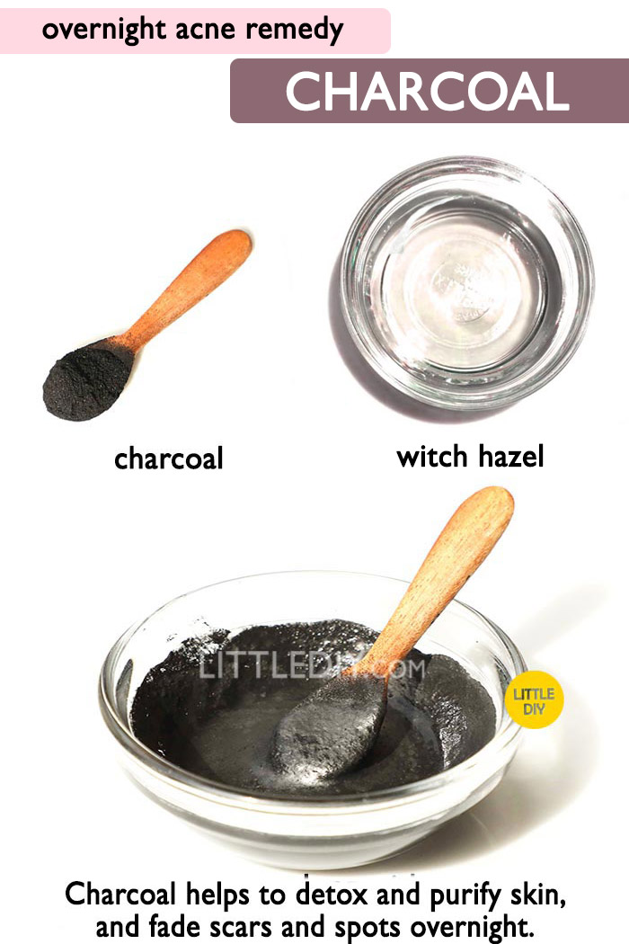 Overnight Acne Remedy with Charcoal -