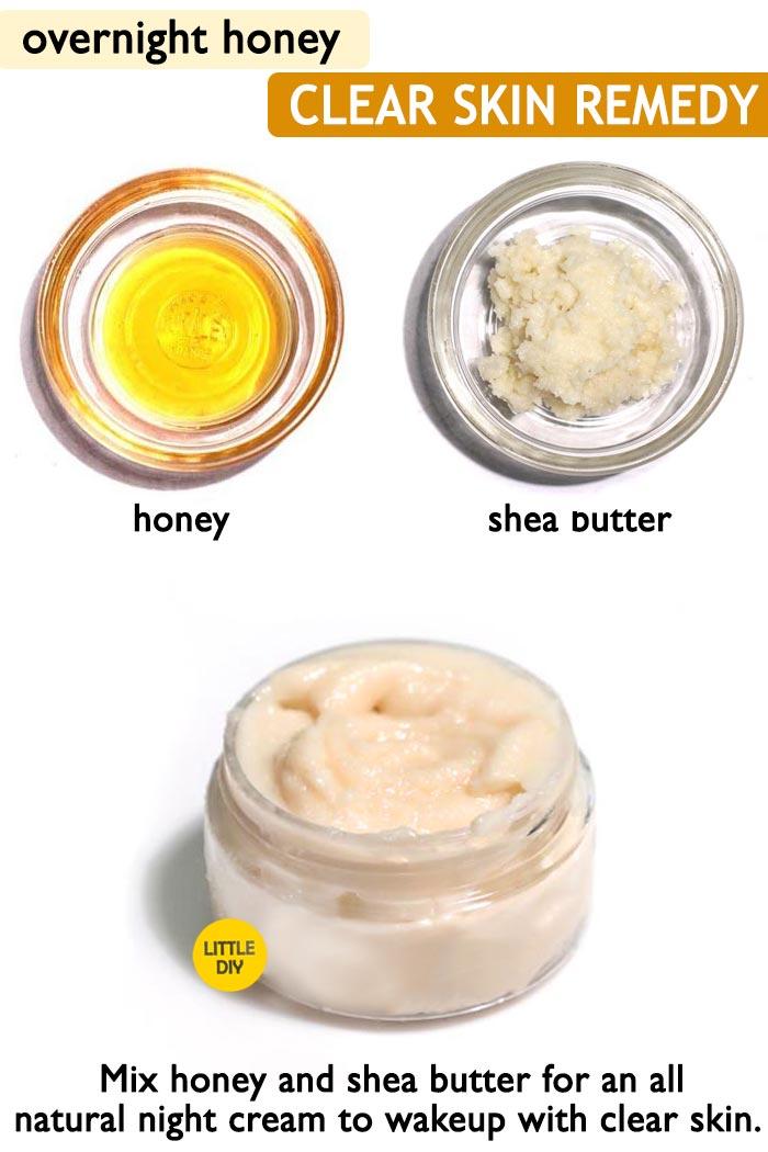 Honey clear skin cream -