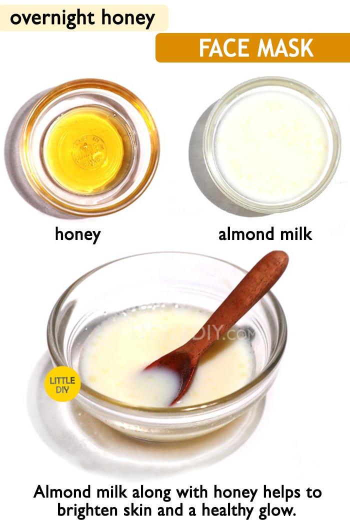 Honey overnight glowing skin