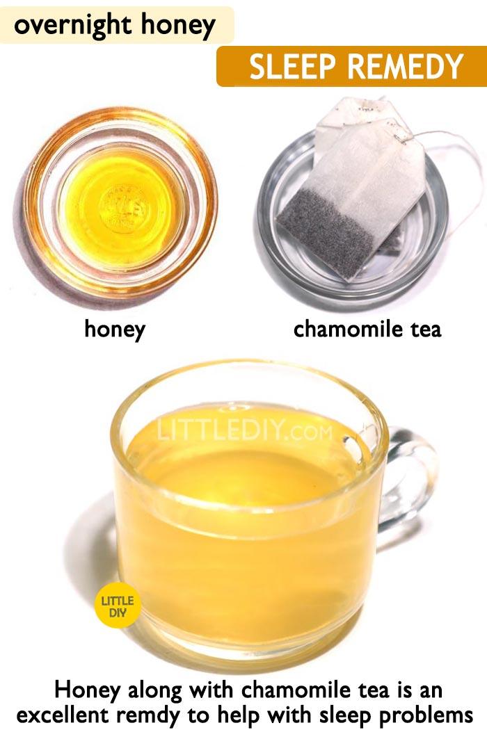 Honey remedy for sleep -