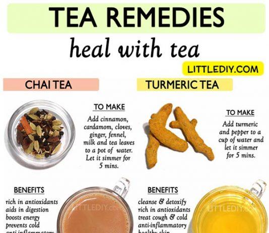 TEA REMEDIES and BENEFITS