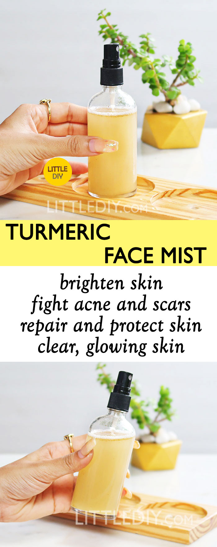 SKIN CLEARING TURMERIC FACE MIST
