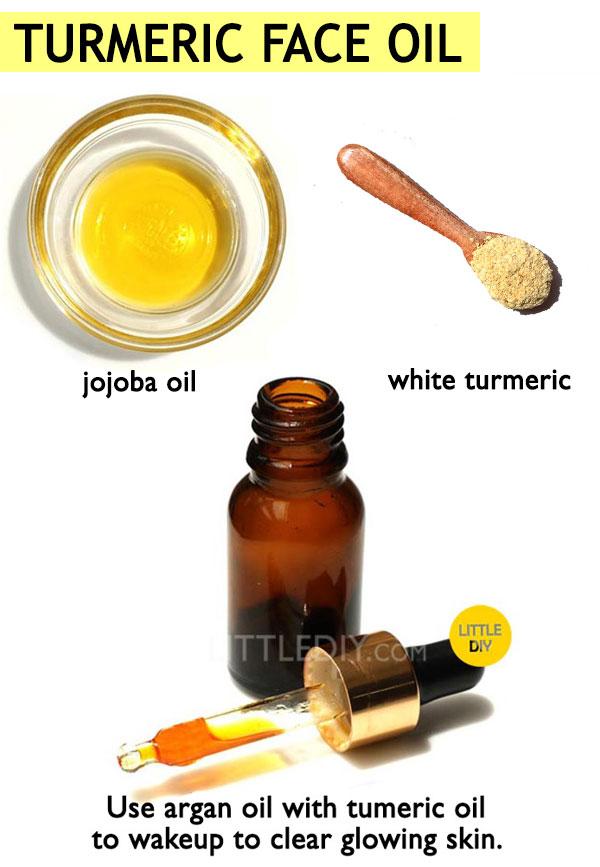 turmeric face oil