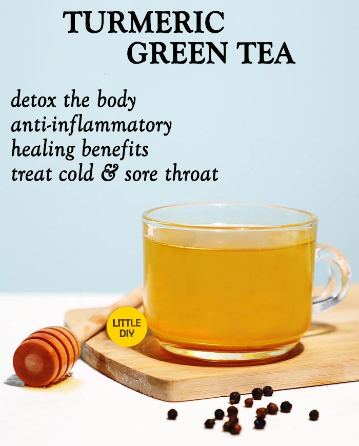 TURMERIC GREEN TEA