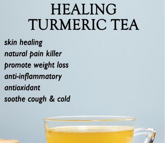 Healing Turmeric Tea Recipe