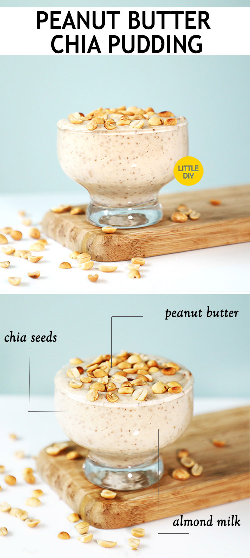 Photo of HEALTHY BREAKFAST – PEANUT BUTTER CHIA PUDDING RECIPE