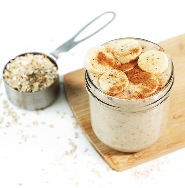 BANANA OATS SMOOTHIE RECIPE